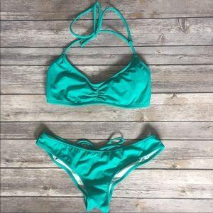 PINK Victoria's Secret Halter Bikini size S